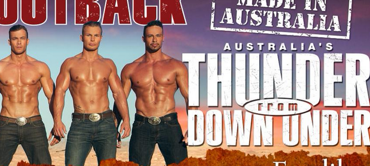 """Thunder From Down Under"" regresa a México más atrevido que nunca"