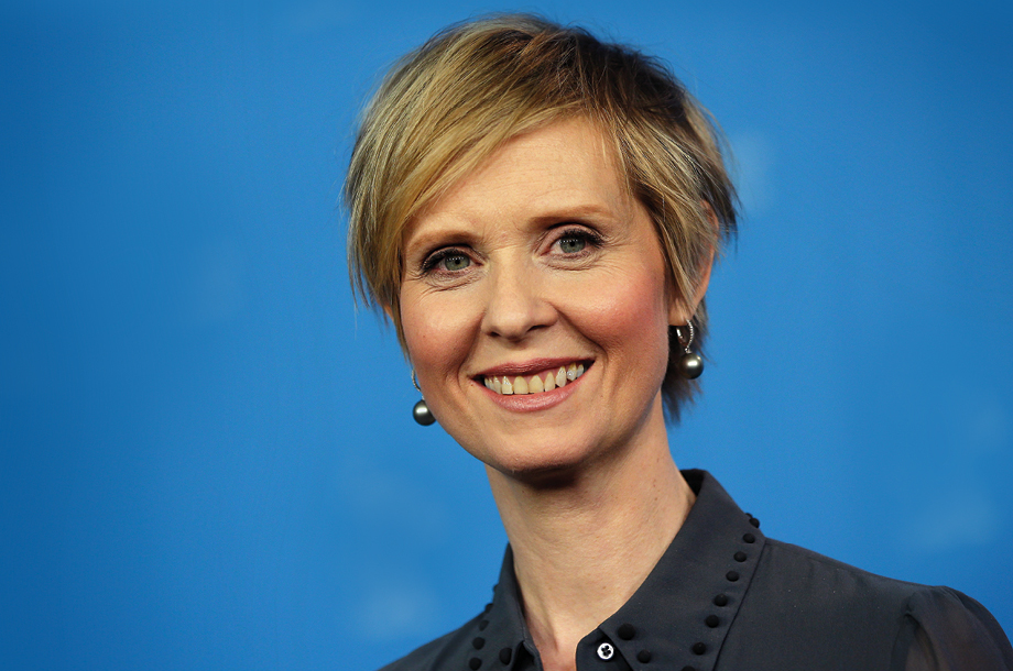 Woman Power: Cynthia Nixon de Sex and the City, quiere gobernar NY