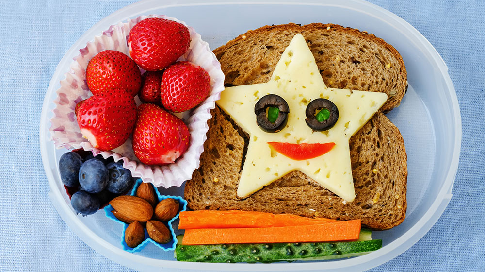 Ideas de lunch saludable para tus hijos