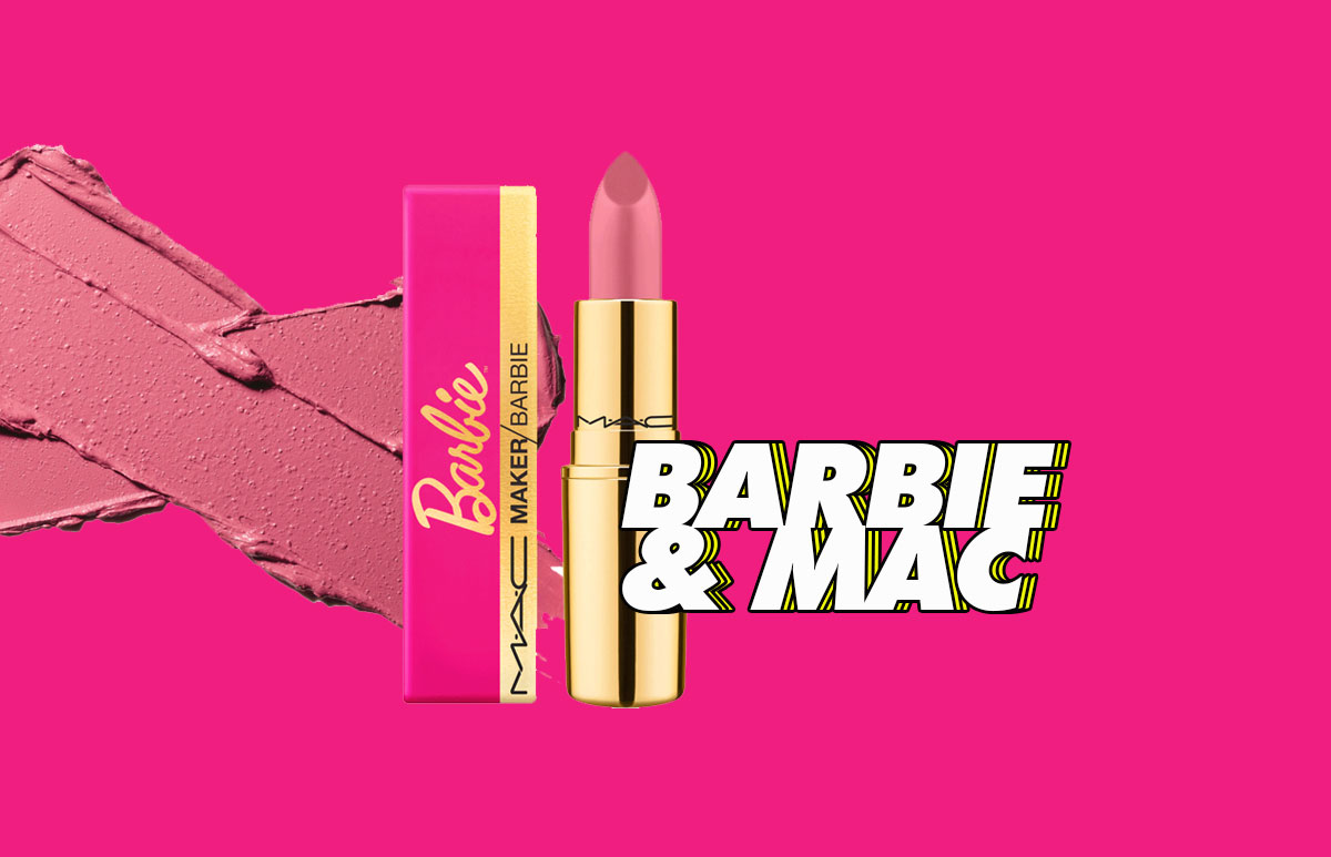 Barbie hace equipo con MAC Cosmetics y lanzan un nuevo labial