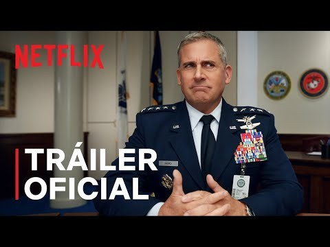 Steve Carell en 'Space Force' la nueva serie de Netflix